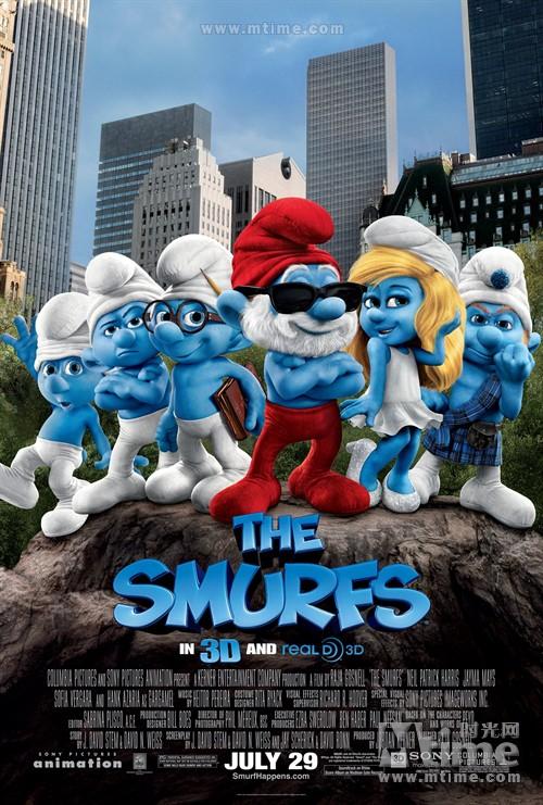 蓝精灵The Smurfs(2011)海报 #01
