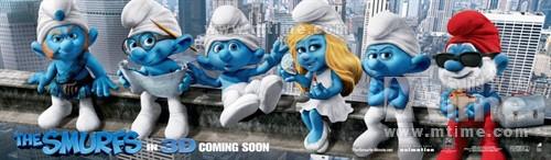 蓝精灵The Smurfs(2011)预告海报 #06