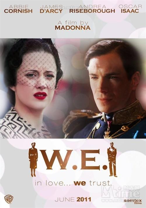 倾国之恋W.E.(2011)预告海报 #01