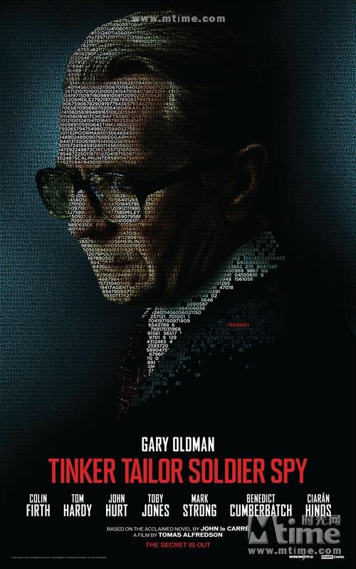 锅匠,裁缝,士兵,间谍Tinker, Tailor, Soldier, Spy(2011)角色海报 #01