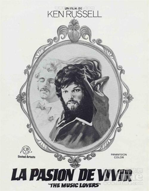 乐圣柴可夫斯基海报(西班牙)