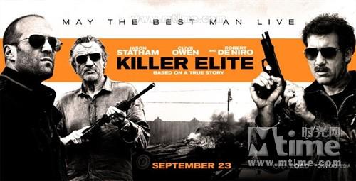 铁血精英Killer Elite(2011)预告海报 #02