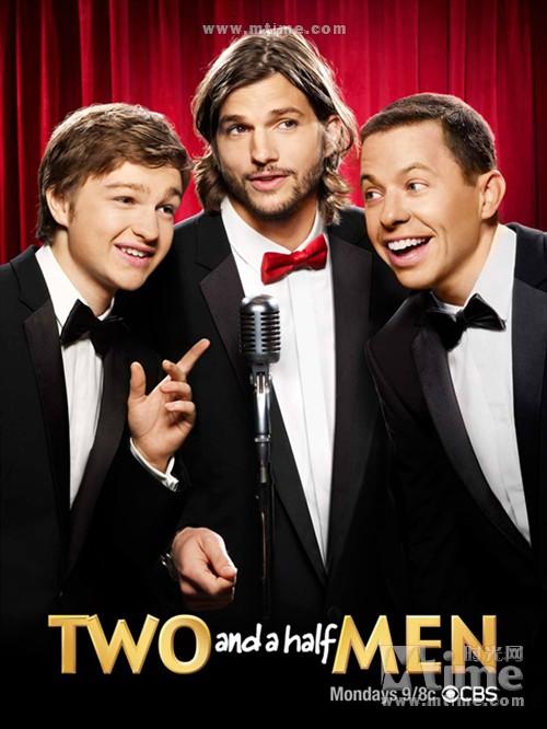 好汉两个半Two and a Half Men(2003)预告海报 #01