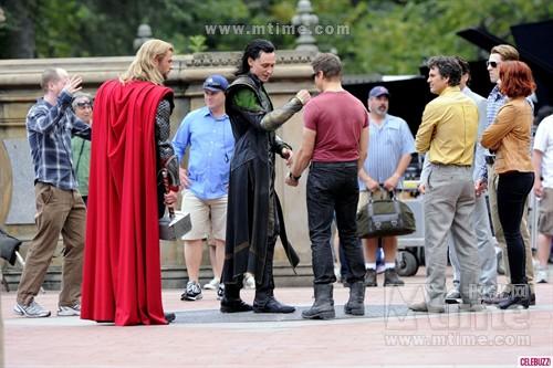复仇者联盟The Avengers(2012)工作照 #74