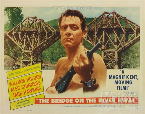桂河大桥The bridge on the river kwai(1957)海报 #13