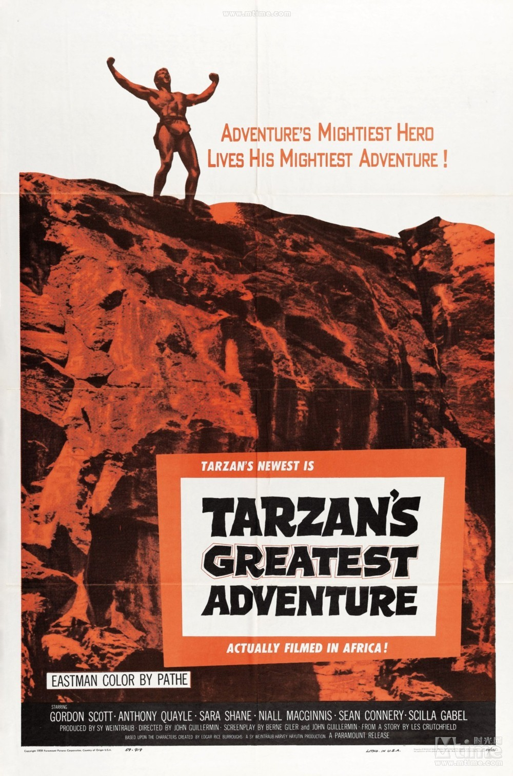 Image result for tarzans greatest adventure movie poster
