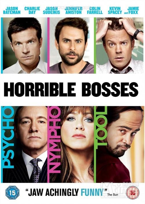 恶老板Horrible bosses(2011)dvd封套(英国) #01