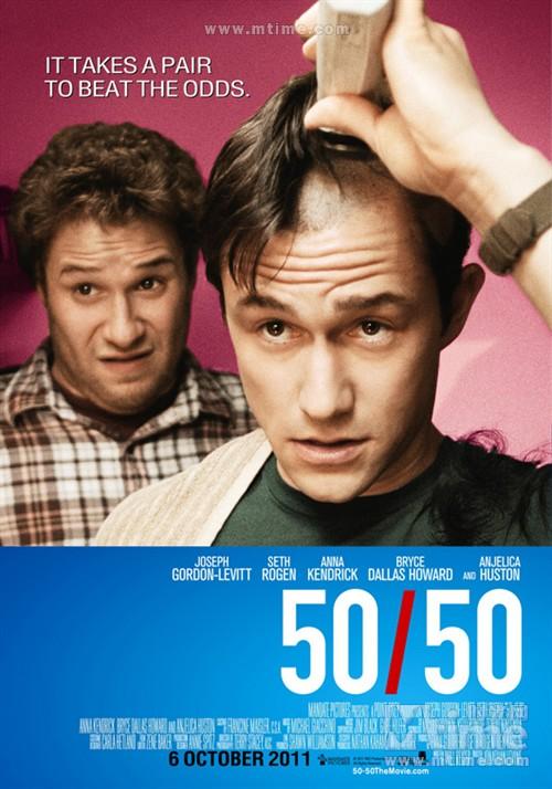 抗癌的我50/50(2011)海报 #02