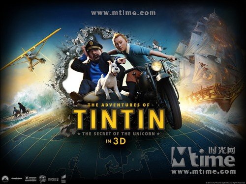 丁丁历险记The Adventures of Tintin: The Secret of the Unicorn(2011)桌面 #1A