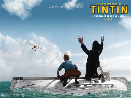 丁丁历险记The Adventures of Tintin: The Secret of the Unicorn(2011)桌面 #5A