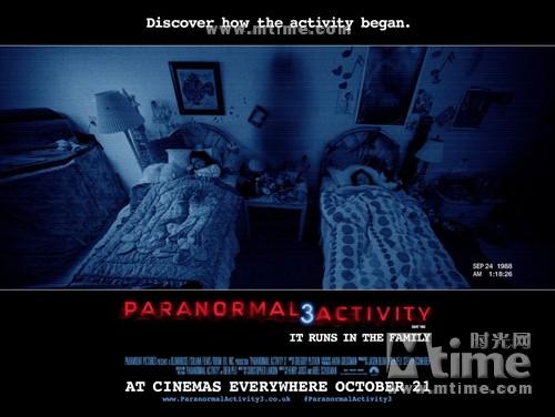 灵动:鬼影实录3Paranormal Activity 3(2011)海报(英国) #01
