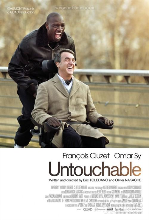无法触碰Intouchables(2011)海报 #01