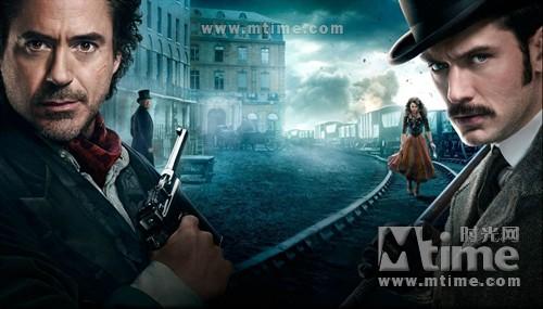 大侦探福尔摩斯2Sherlock Holmes: A Game of Shadows(2011)预告海报 #01B