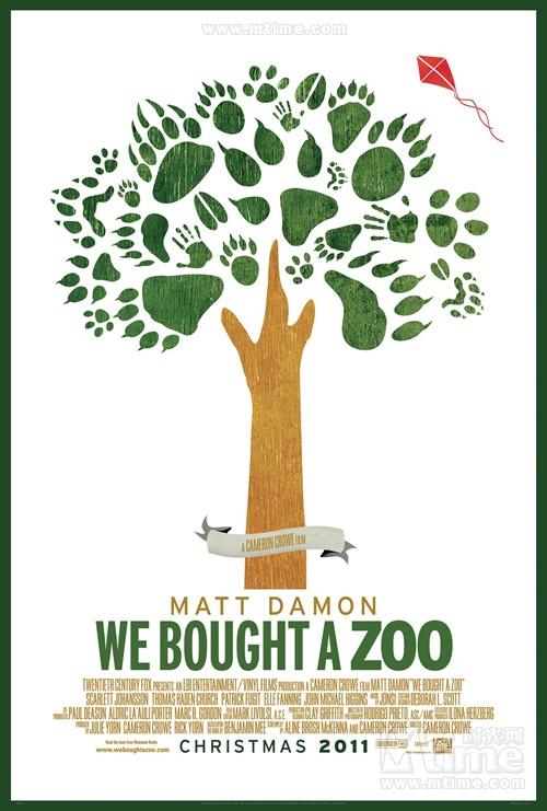 我家买了动物园We bought a zoo(2011)海报 #02