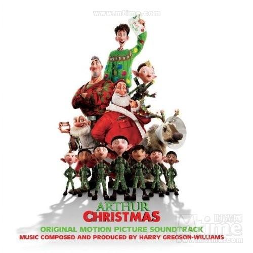 亚瑟·圣诞Arthur christmas(2011)原声碟封套 #01