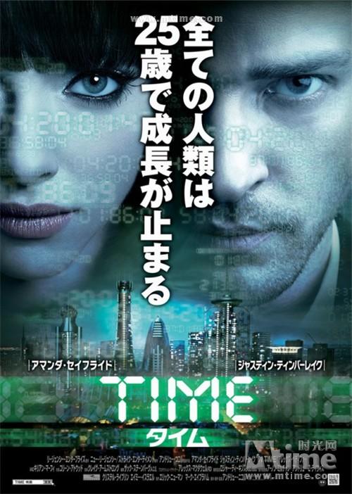 时间规划局In Time(2011)海报(日本) #01