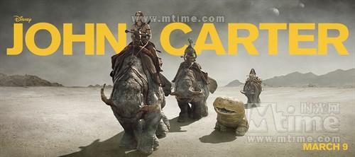 异星战场John Carter(2012)预告海报 #06