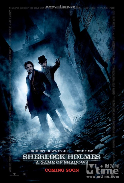 大侦探福尔摩斯2Sherlock Holmes: A Game of Shadows(2011)海报(英国) #01