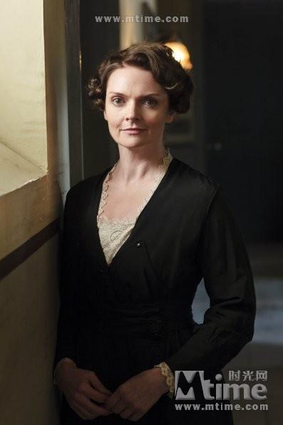 Sharon Small Downton Abbey 唐顿庄园 工作照...