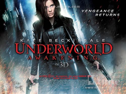 黑夜传说4Underworld: Awakening(2012)海报(英国) #01