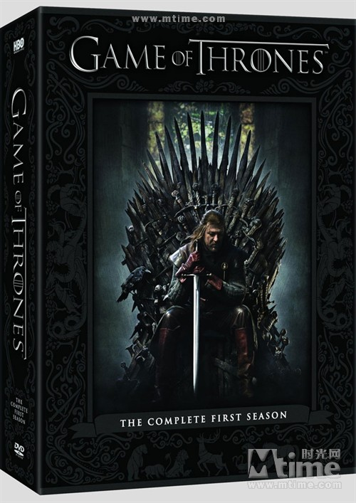 冰与火之歌:权力的游戏Game of Thrones(2011)DVD封套 #01