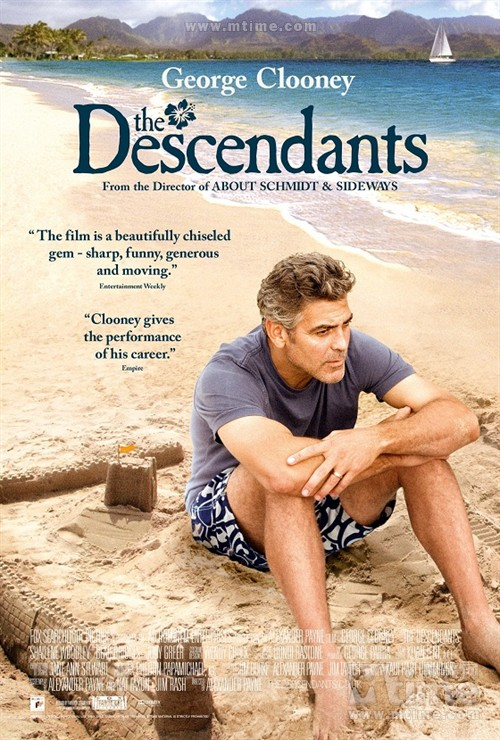 后人The descendants(2011)海报 #01