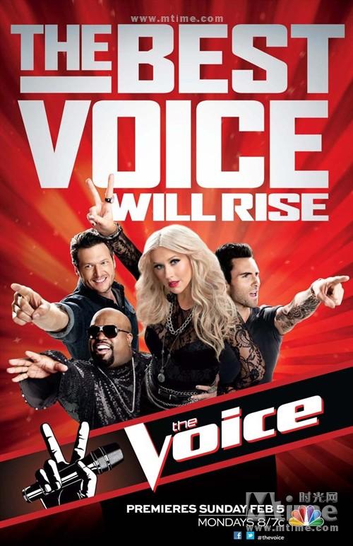 美国之声The Voice(2011)海报 #03