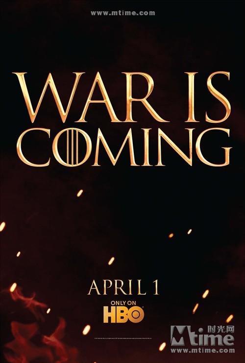 冰与火之歌:权力的游戏Game of Thrones(2011)预告海报 #02