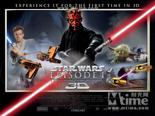 星球大战前传一:魅影危机Star Wars:Episode 1:The Phantom Menace(1999)海报(英国) #03