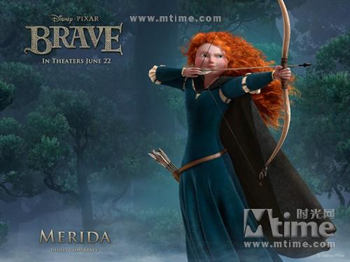 勇敢传说Brave(2012)桌面 #01A