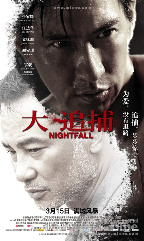 大追捕Night Fall(2012)海报 #02