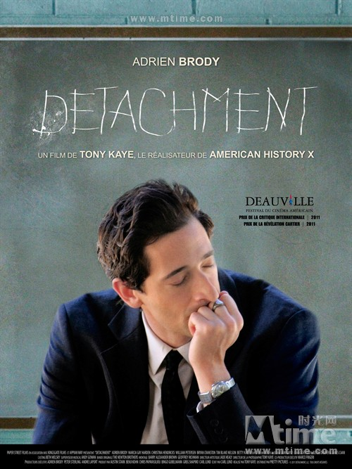 超脱Detachment(2011)海报(法国) #01
