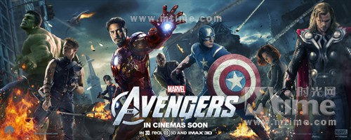 复仇者联盟The Avengers(2012)预告海报 #03