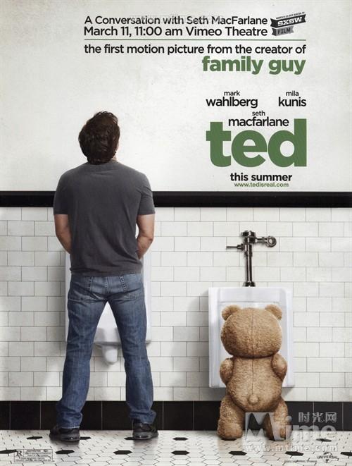 泰迪熊Ted(2012)预告海报 #01