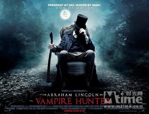 吸血鬼猎人林肯Abraham Lincoln: Vampire Hunter(2012)海报(英国) #01