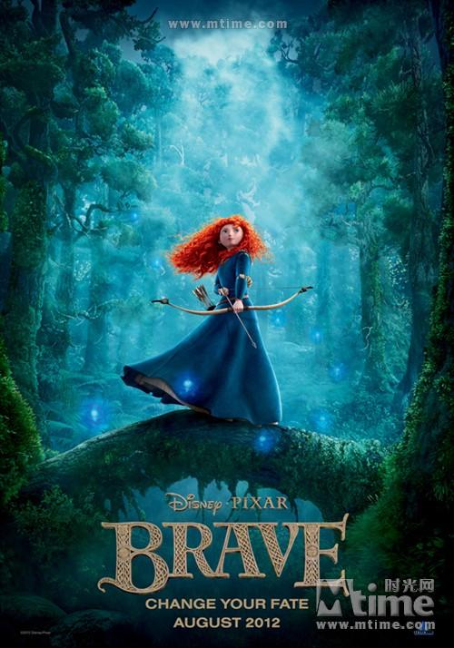勇敢传说Brave(2012)预告海报 #07