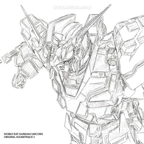 机动战士高达独角兽kid senshi gundam uc(2010)原声碟封套 #05