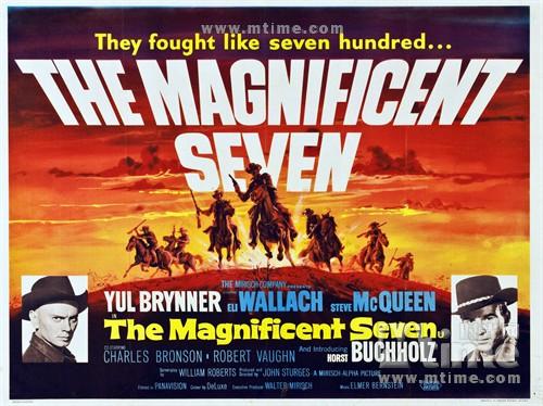 豪勇七蛟龙The Magnificent Seven(1960)海报 #11