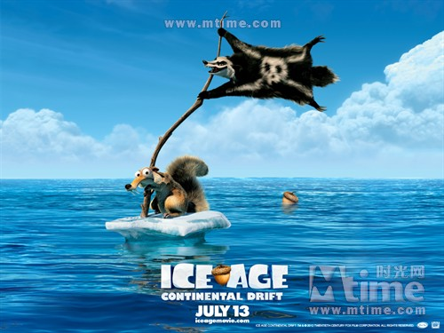 冰川时代4Ice Age: Continental Drift(2012)桌面 #02A
