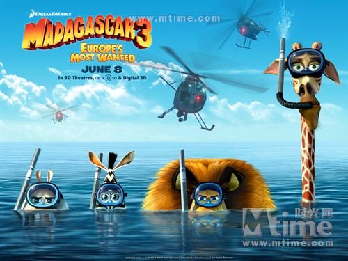 马达加斯加3Madagascar 3: Europe's Most Wanted(2012)桌面 #1F