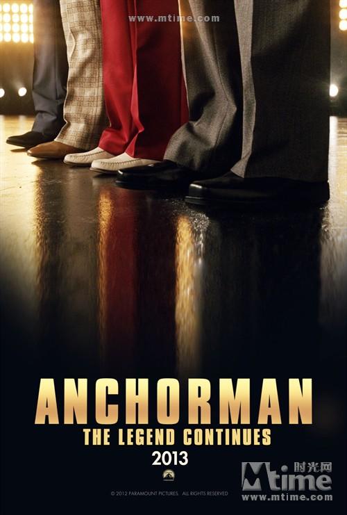 王牌播音员2Anchorman 2(2012)预告海报 #01