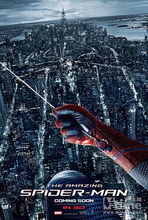 超凡蜘蛛侠The amazing spider-man(2012)预告海报 #15