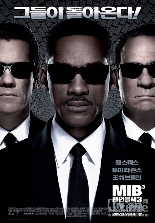 韩国票房 黑衣人3 登顶 四天观众破百万
