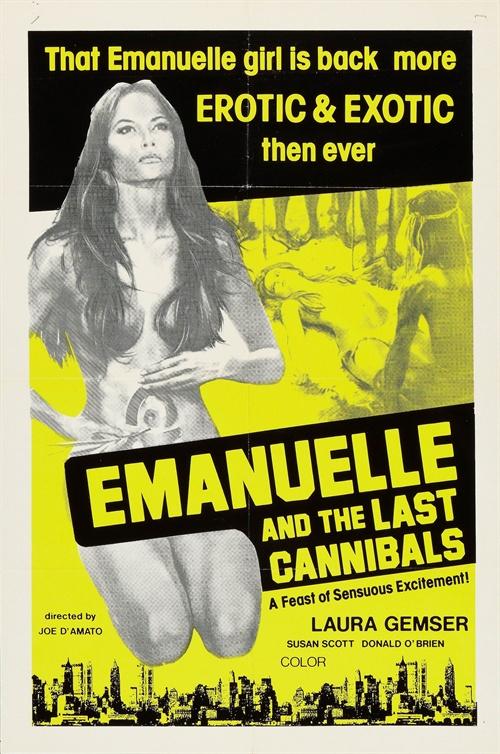 兽女II+亚马逊最后食人族海报美国+