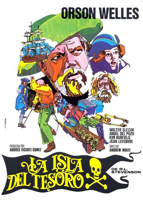 金银岛 海报(西班牙) #01