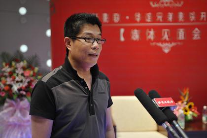 华谊兄弟董事长王中军先生接受记者访问