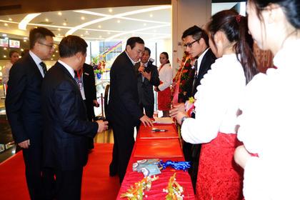 2012年1月15日开业庆典